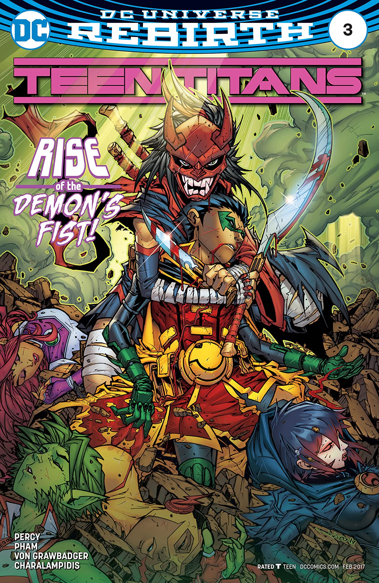 Teen Titans (2016-) #3