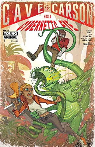 Cave Carson Has a Cybernetic Eye (2016-) #3
