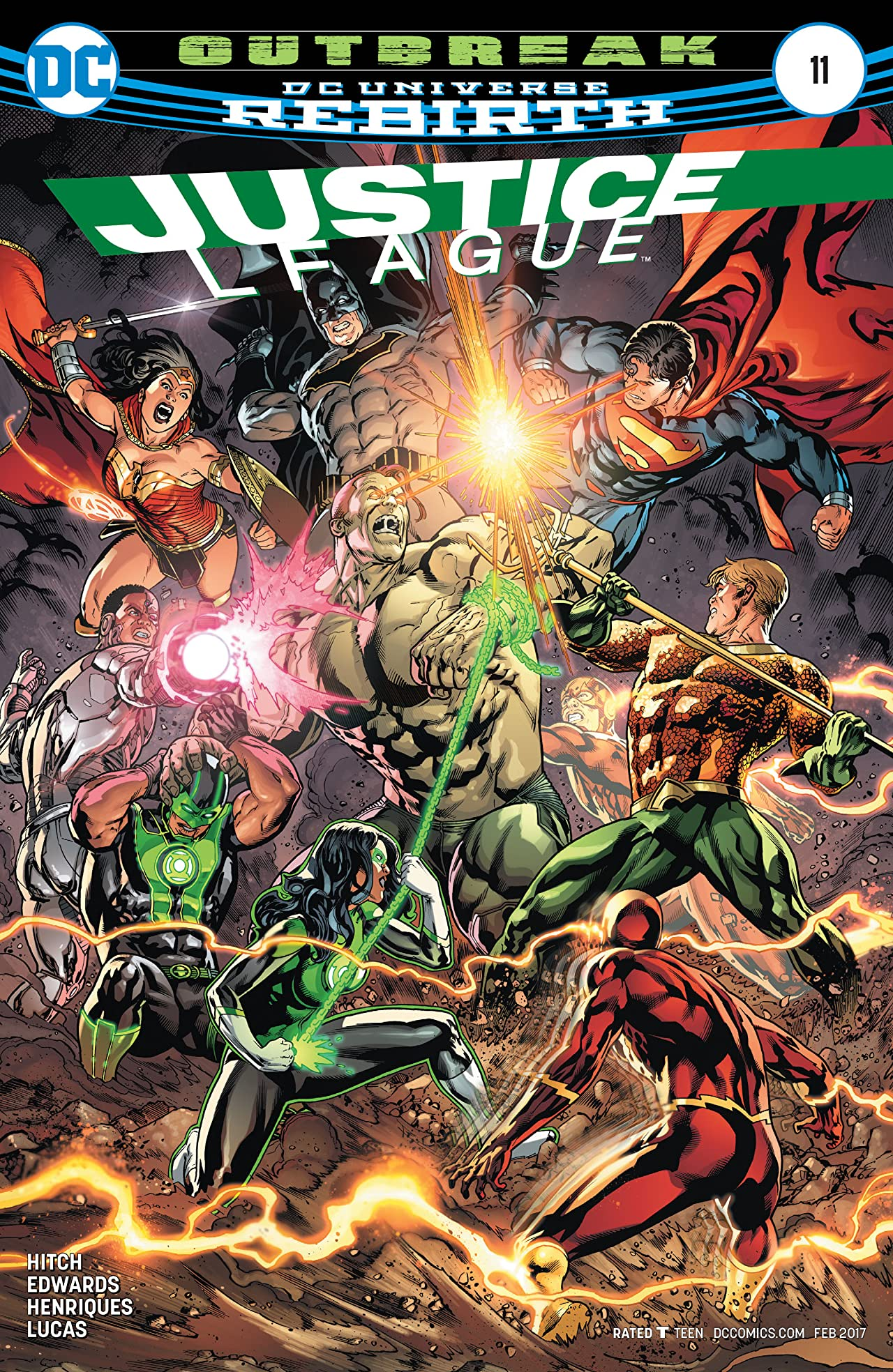 Justice League (2016-) No.11
