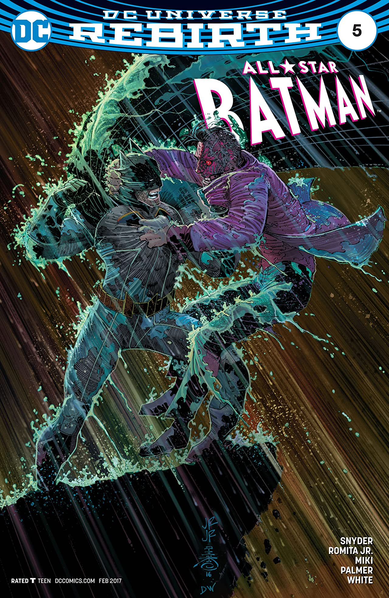 All-Star Batman (2016-2017) #5