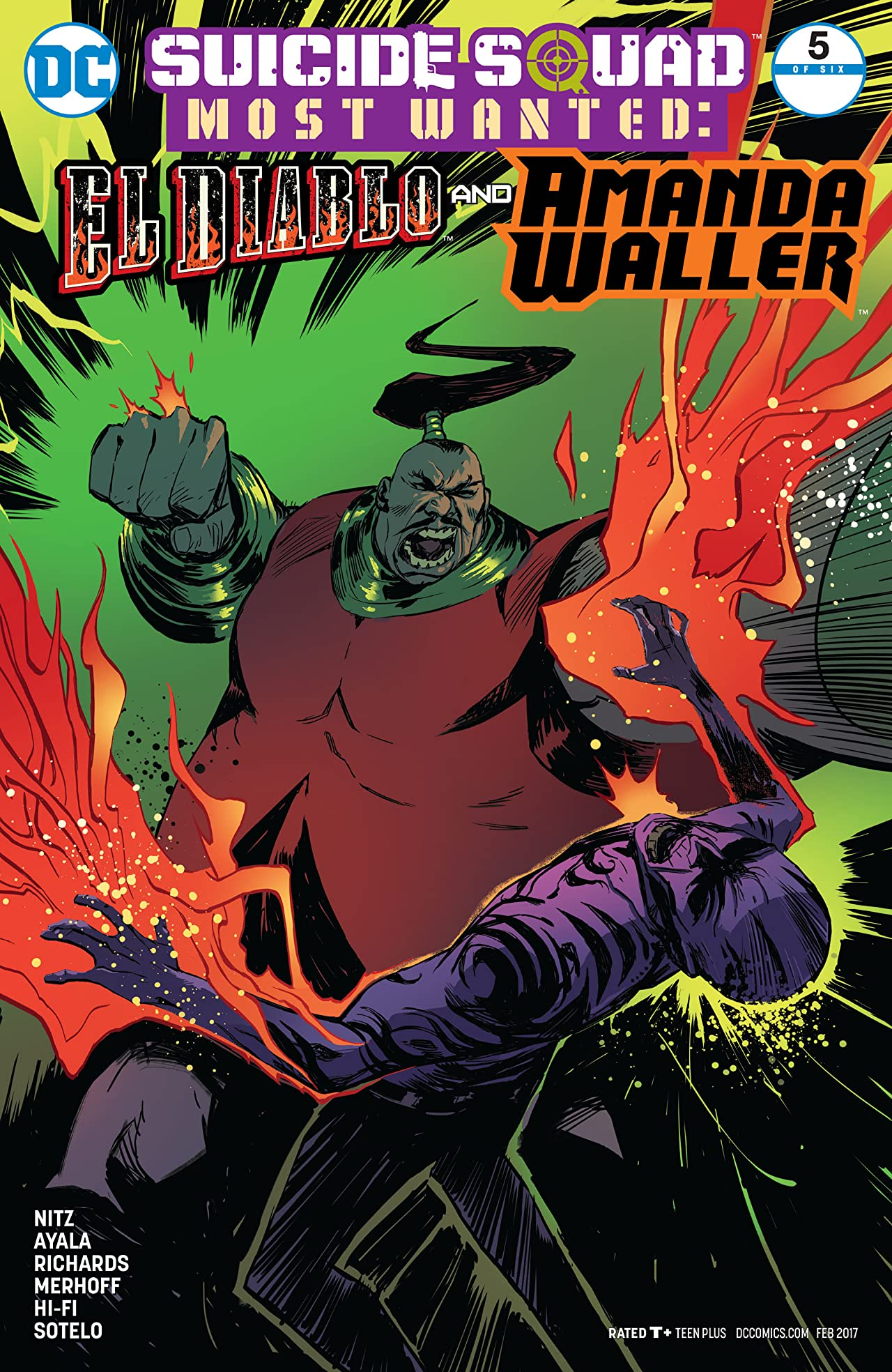 Suicide Squad Most Wanted: El Diablo and Amanda Waller (2016-2017) #5