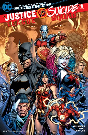 Justice League vs. Suicide Squad (2016-) No.1