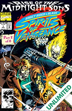 Ghost Rider/Blaze: Spirits of Vengeance (1992-1994) #1