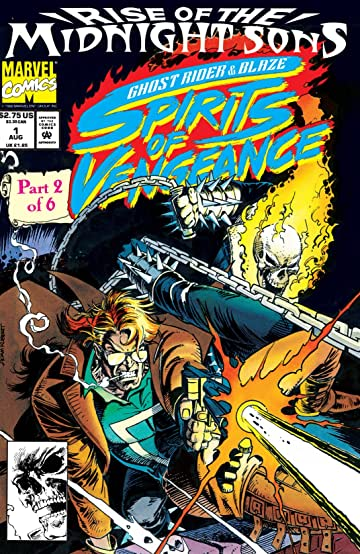 Ghost Rider Blaze Spirits Of Vengeance 1992 1994 1