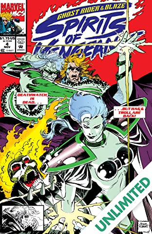 Ghost Rider/Blaze: Spirits of Vengeance (1992-1994) #4