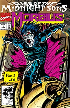 Morbius: The Living Vampire (1992-1995) #1