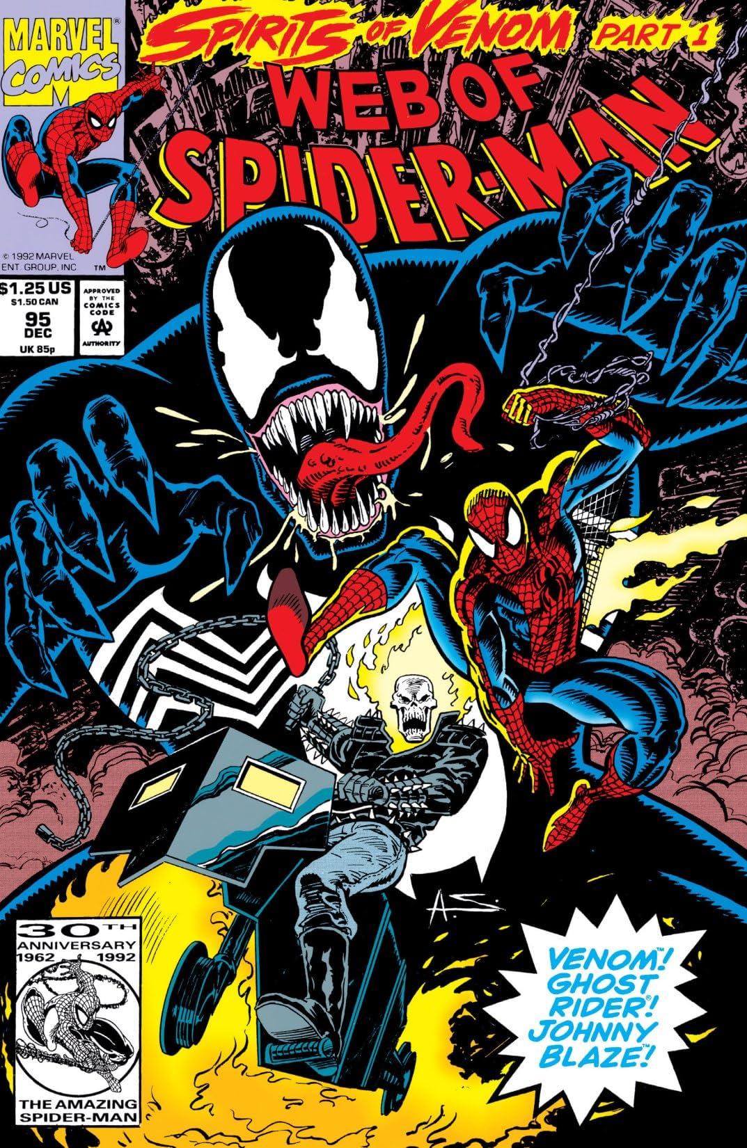 Web of Spider-Man (1985-1995) #95