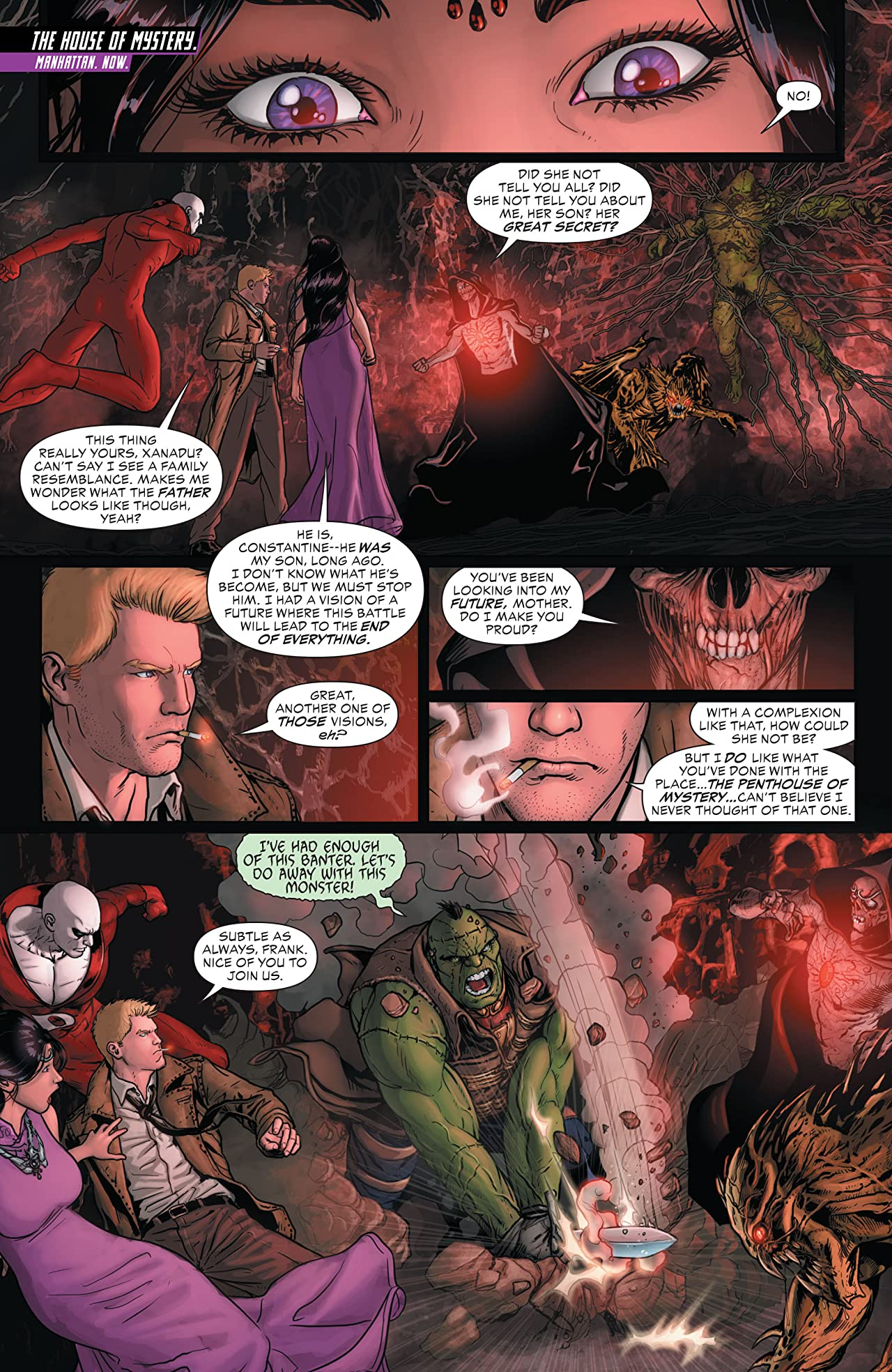 Justice League Dark (2011-2015) #21