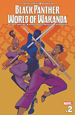 Black Panther: World of Wakanda (2016-) #2