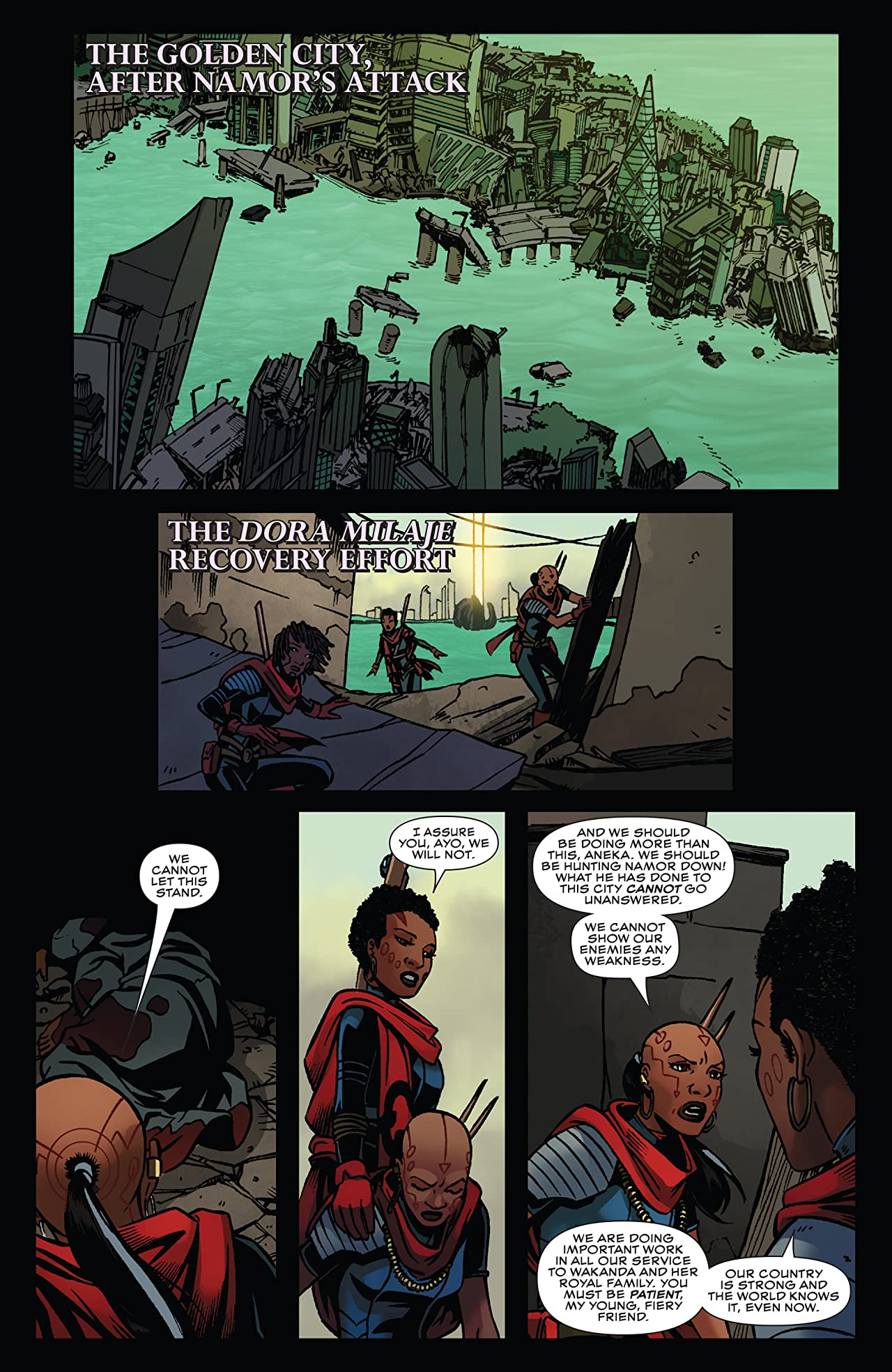 Black Panther: World of Wakanda (2016-2017) #2
