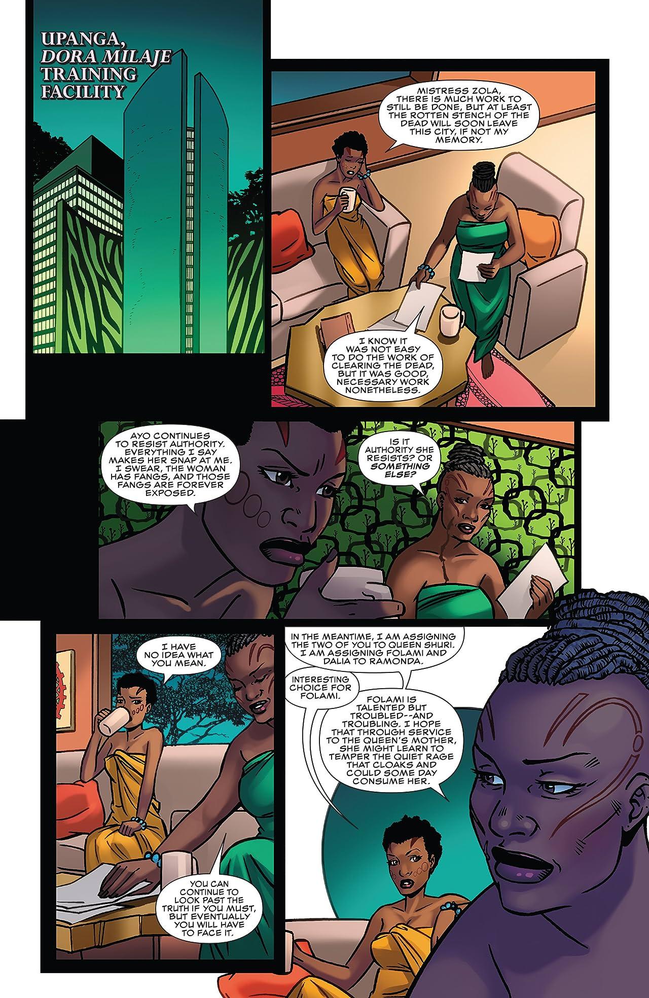 Black Panther: World of Wakanda (2016-2017) #2