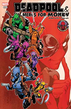 Deadpool & The Mercs For Money (2016-2017) #6
