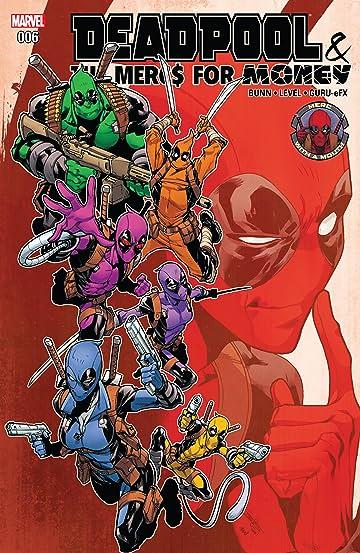 Deadpool & The Mercs For Money (2016-2017) #6
