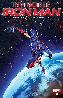 Invincible Iron Man (2016-2018) #2