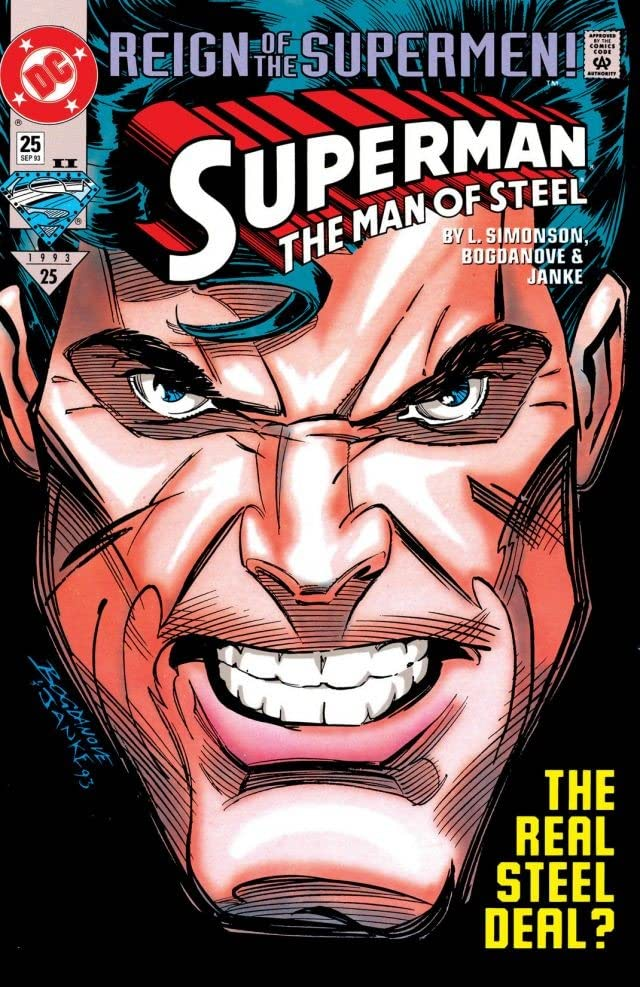 Superman: The Man of Steel (1991-2003) #25