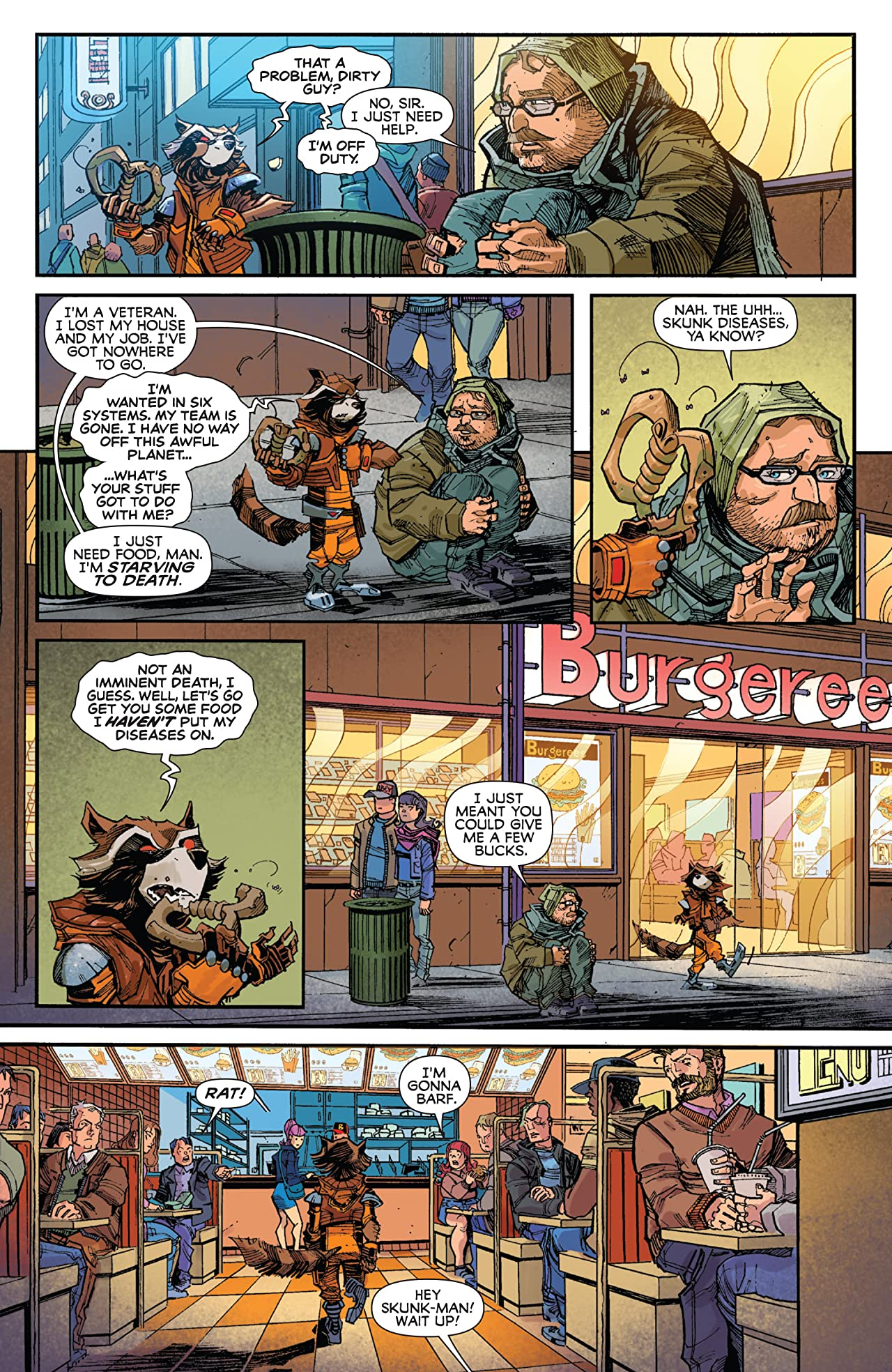 Rocket Raccoon (2016-2017) #1