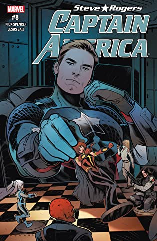 Captain America: Steve Rogers (2016-2017) #8