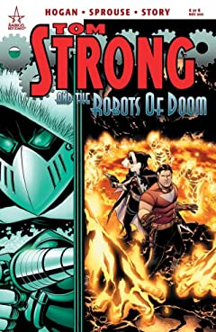 Tom Strong and the Robots of Doom #4 (of 6)