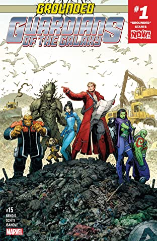 Guardians of the Galaxy (2015-2017) No.15