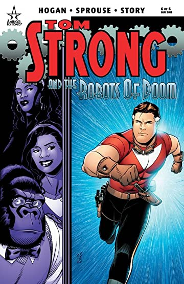 Tom Strong and the Robots of Doom #6 (of 6)