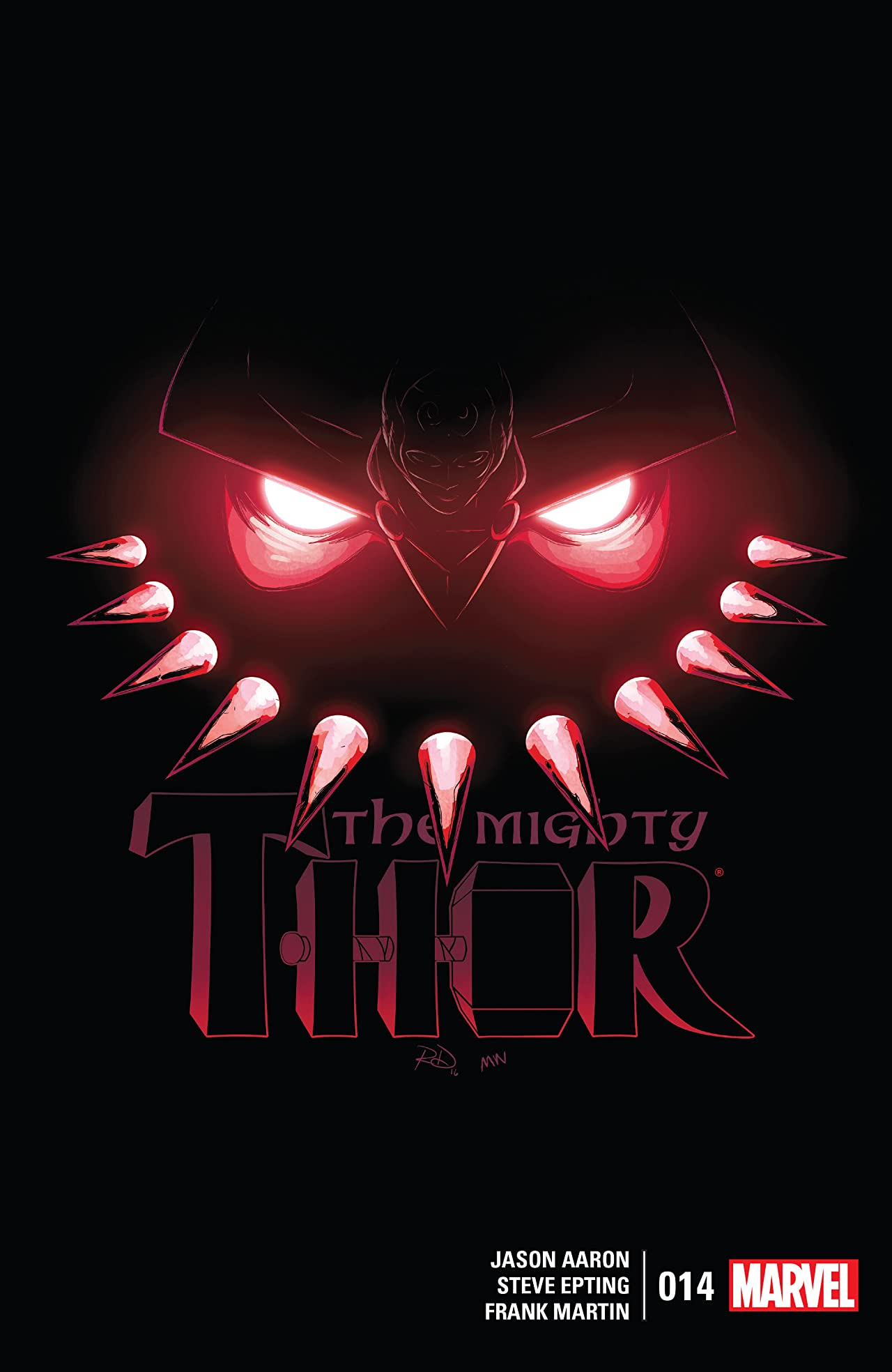 The Mighty Thor (2015-2018) #14
