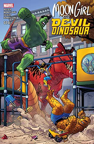 Moon Girl and Devil Dinosaur (2015-) #14