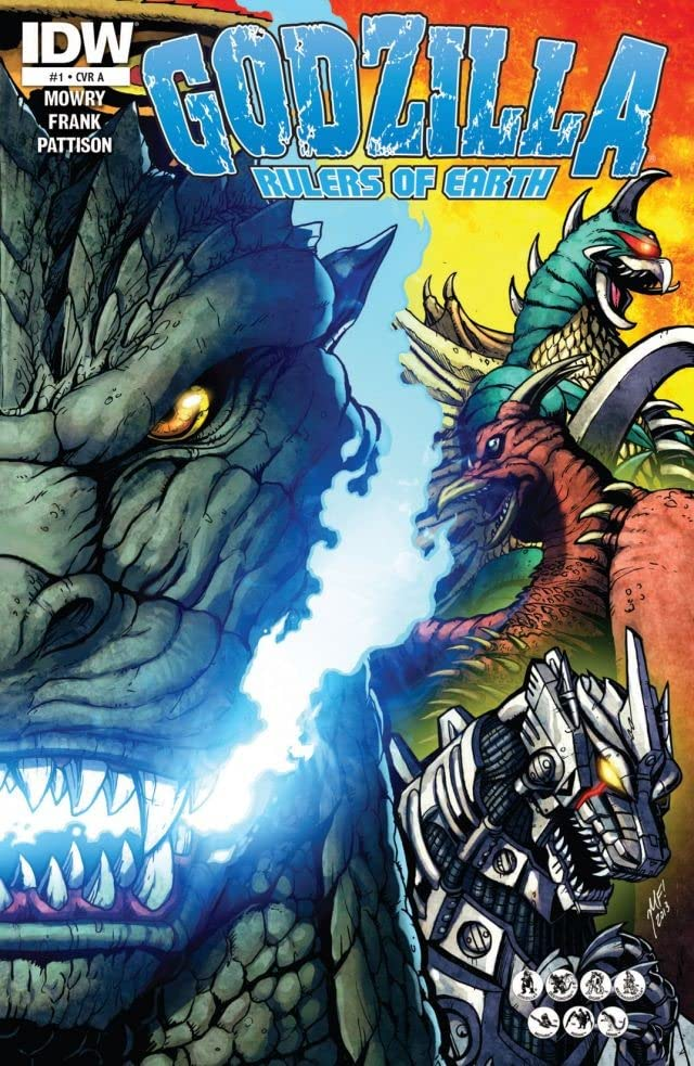 Godzilla: Rulers of Earth #1