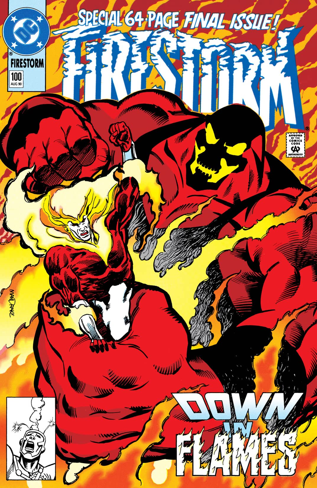 Firestorm: The Nuclear Man (1982-1990) #100