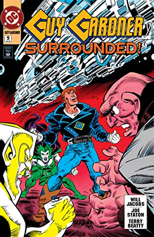 Guy Gardner: Warrior (1992-1996) #9
