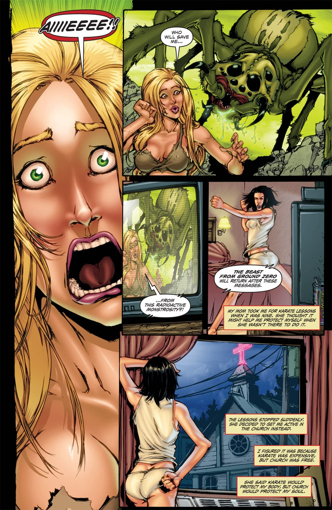 Hack/Slash: My First Maniac #2 (of 4)