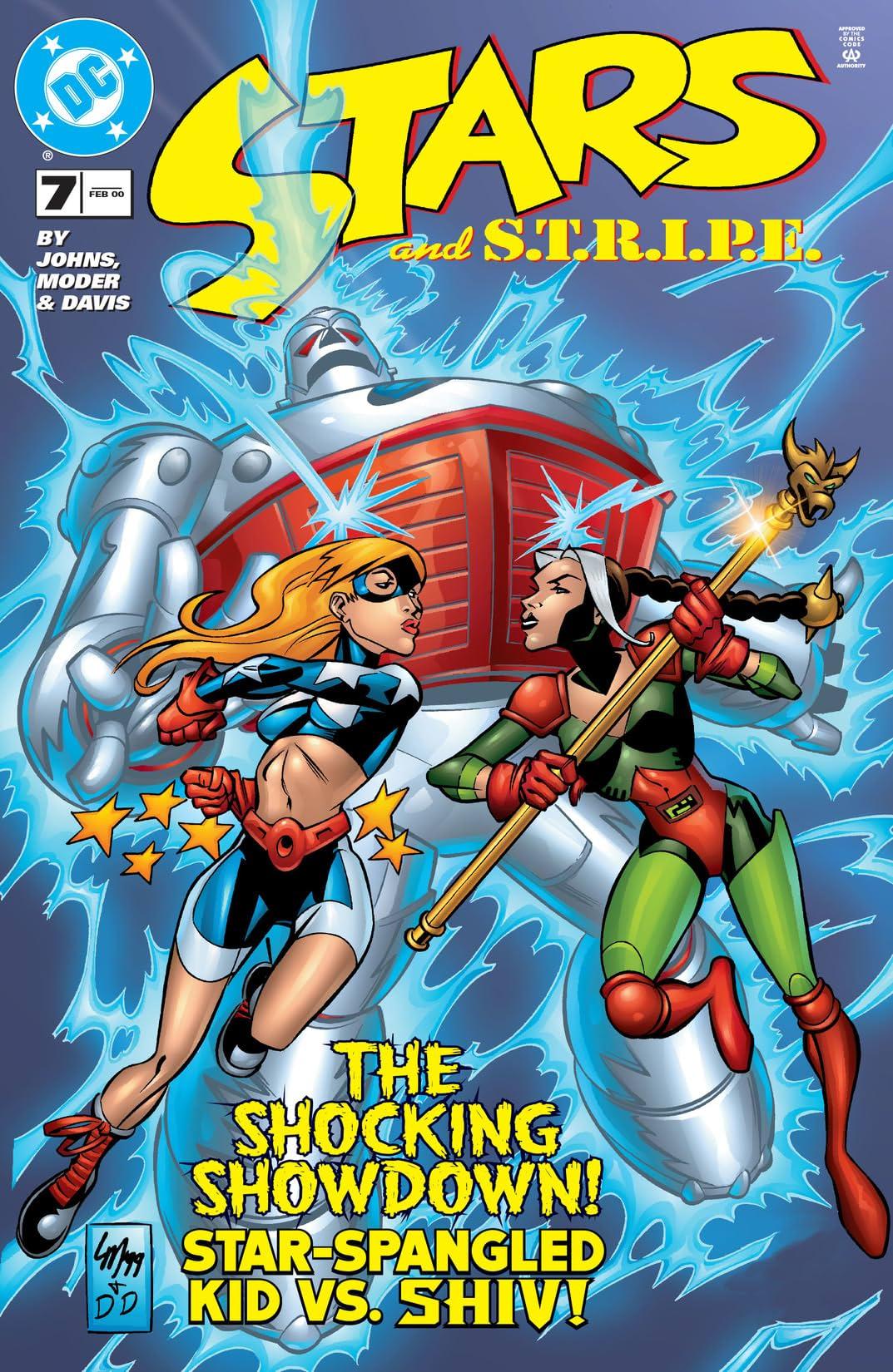 Stars and S.T.R.I.P.E. (1999-2000) #7