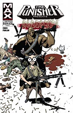 Punisher Presents: Barracuda Max #5 (of 5)