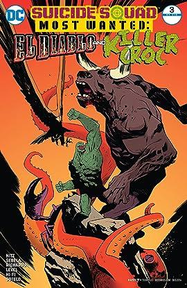 Suicide Squad Most Wanted: El Diablo and Killer Croc (2016-2017) #3