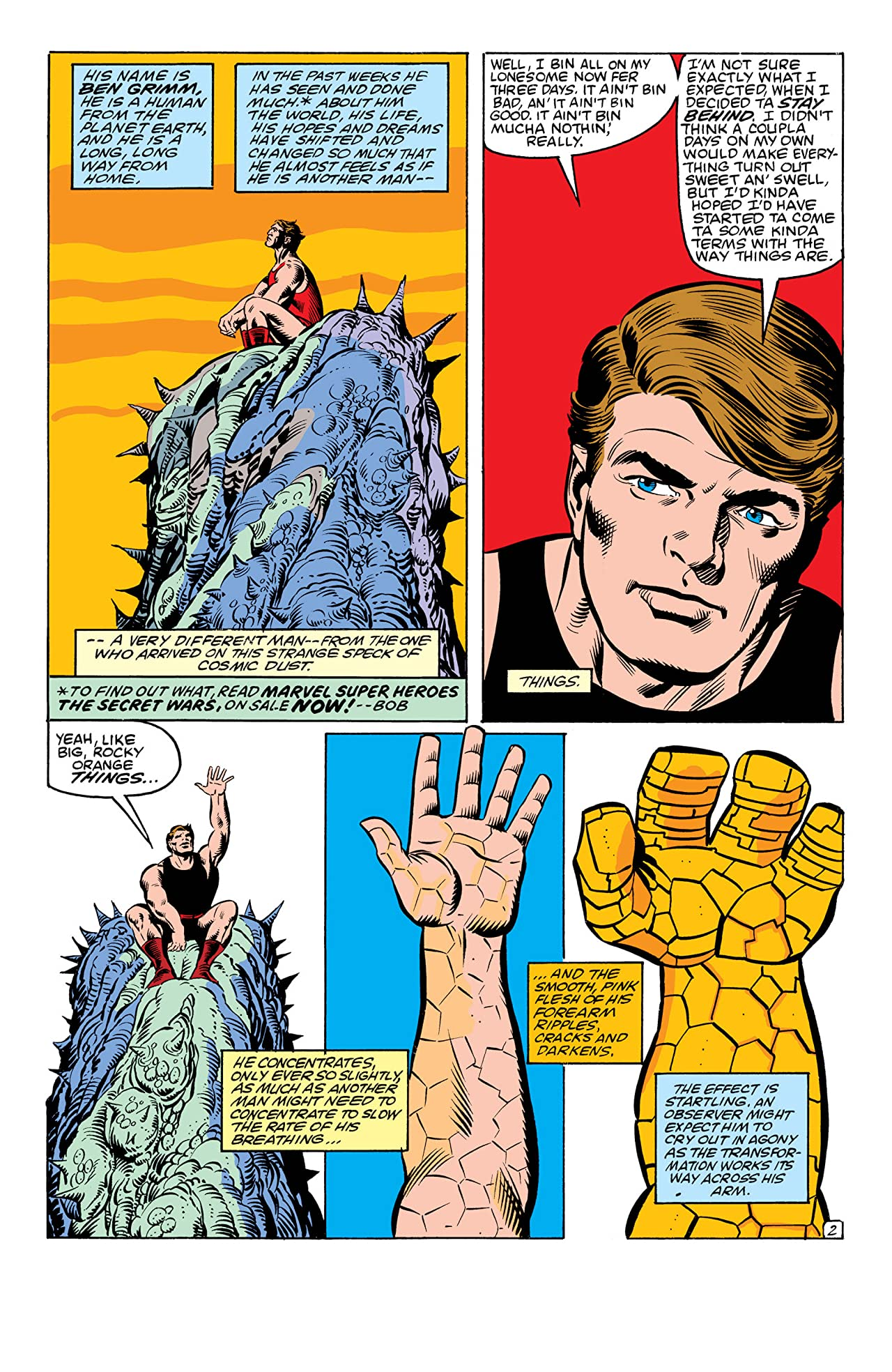 The Thing (1983-1986) #11