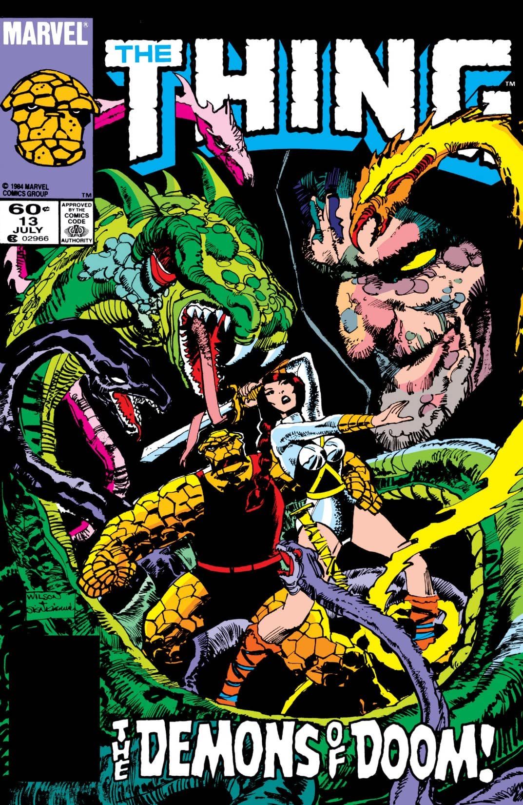 The Thing (1983-1986) #13