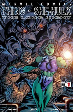Thing & She-Hulk: The Long Night (2002) #1