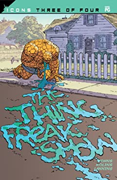 The Thing: Freakshow (2002) #3 (of 4)