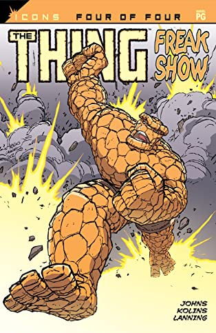 The Thing: Freakshow (2002) #4 (of 4)