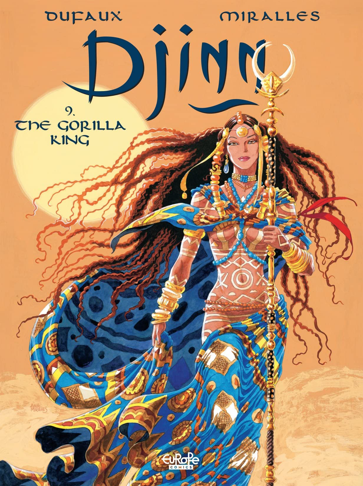 Djinn Vol. 9: The Gorilla King