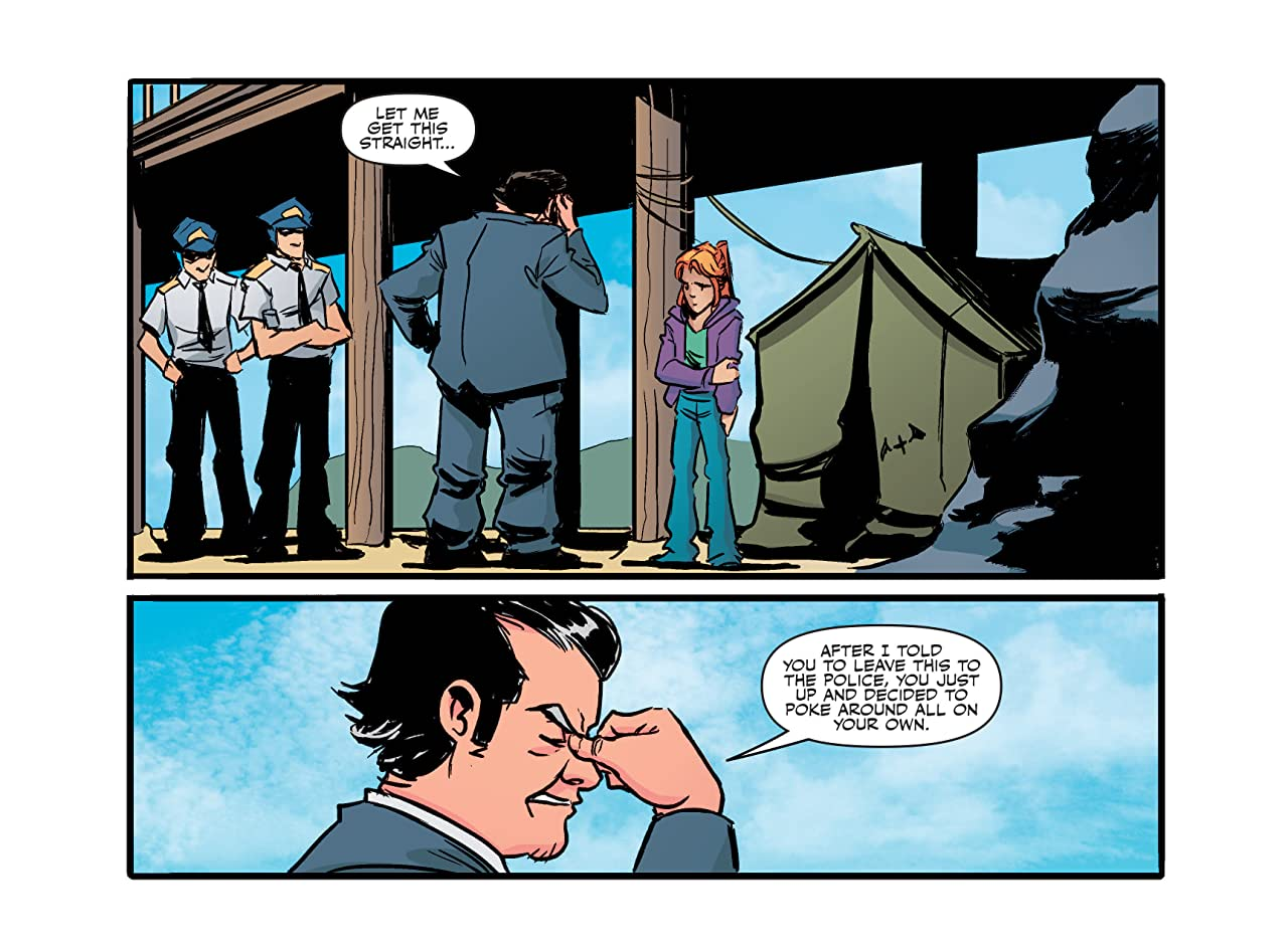 The X-Files: Origins #4: Chapter Four