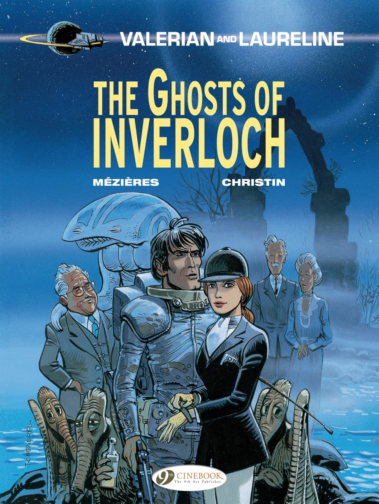Valerian and Laureline Vol. 11: The Ghosts of Inverloch