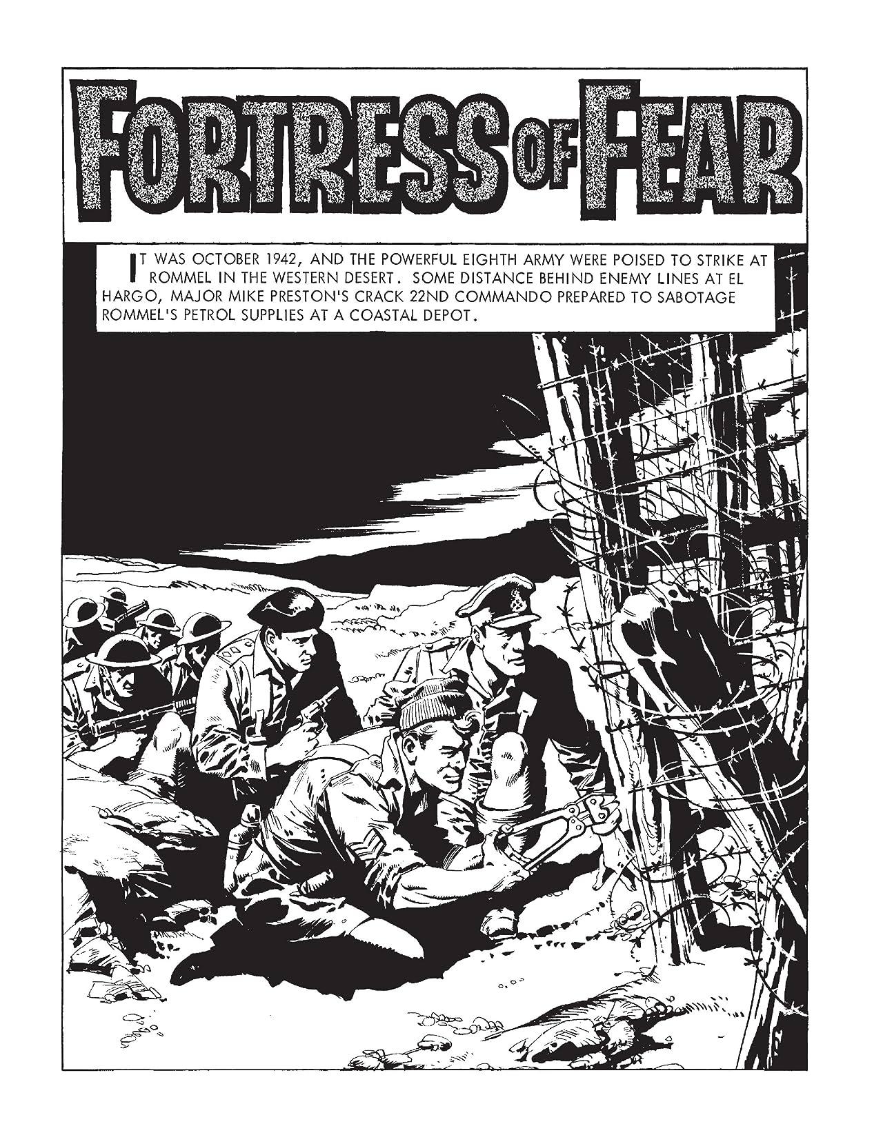 Commando #4956: Fortress Of Fear