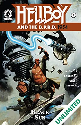 Hellboy and the B.P.R.D.: 1954 #2: The Black Sun Part 2