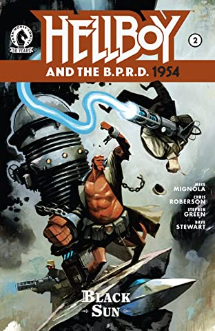 Hellboy and the B.P.R.D.: 1954 No.2: The Black Sun Part 2