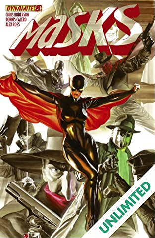 Masks #8: Digital Exclusive Edition