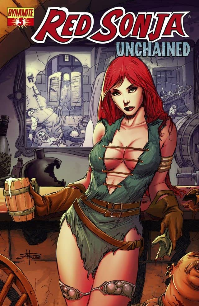 Red Sonja: Unchained #3 (of 4)