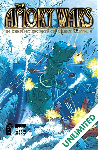 The Amory Wars: In Keeping Secrets of Silent Earth: 3 #3 (of 12)