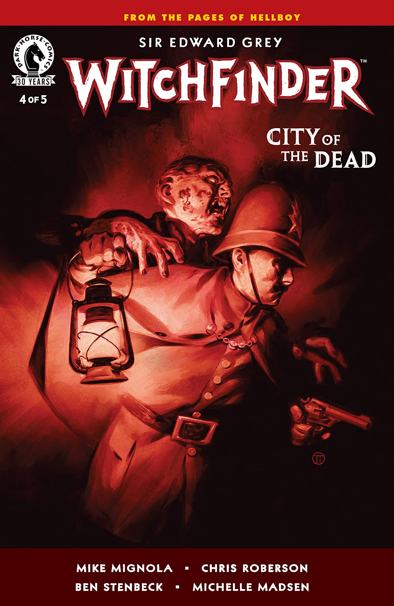 Witchfinder: City of the Dead #4
