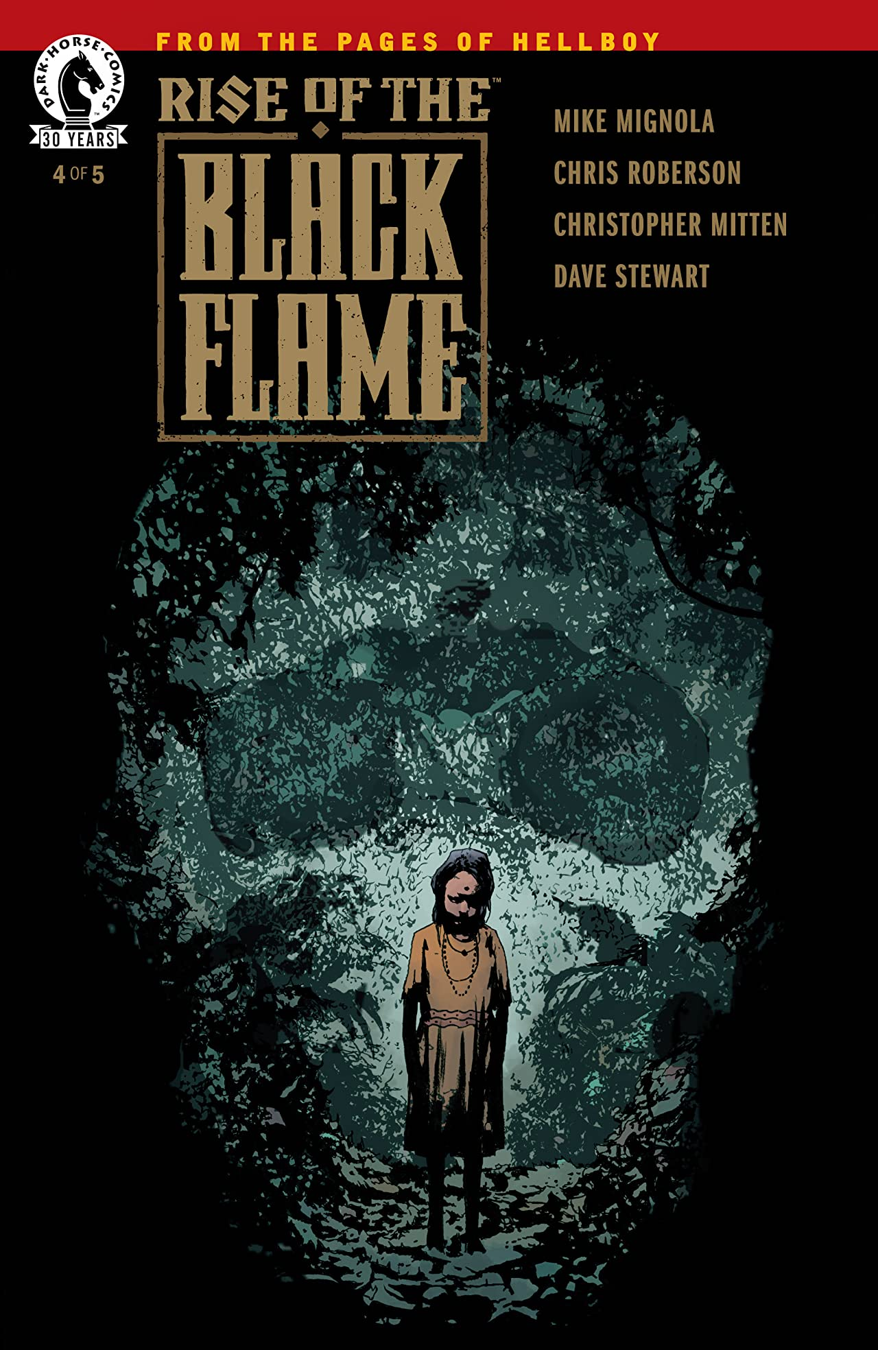 Rise of the Black Flame No.4