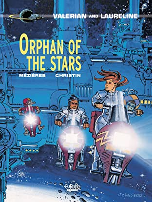 Valérian Vol. 17: Orphan of the stars